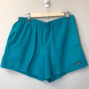 Patagonia turquoise swim trunks size XL